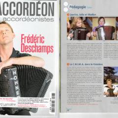 Accordéon magazine – Janvier 2013