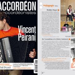 Accordéon magazine – Juillet- aout 2013